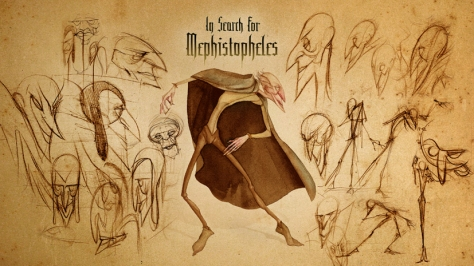 Karakter dizajn - film Mefisto