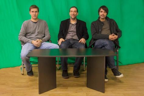 S leva na desno: Stevica Cvetković, Goran Jovanović, Nikola Stojanović