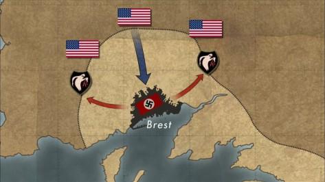 Plan napada na Brest.