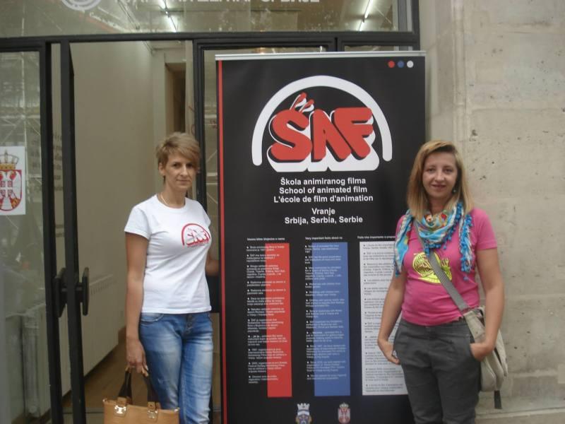 Prezentacija SAF-a u Parizu