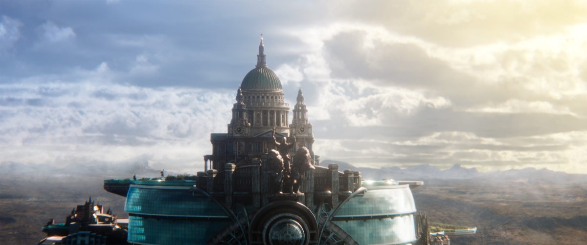 Create artwork for Mortal Engines