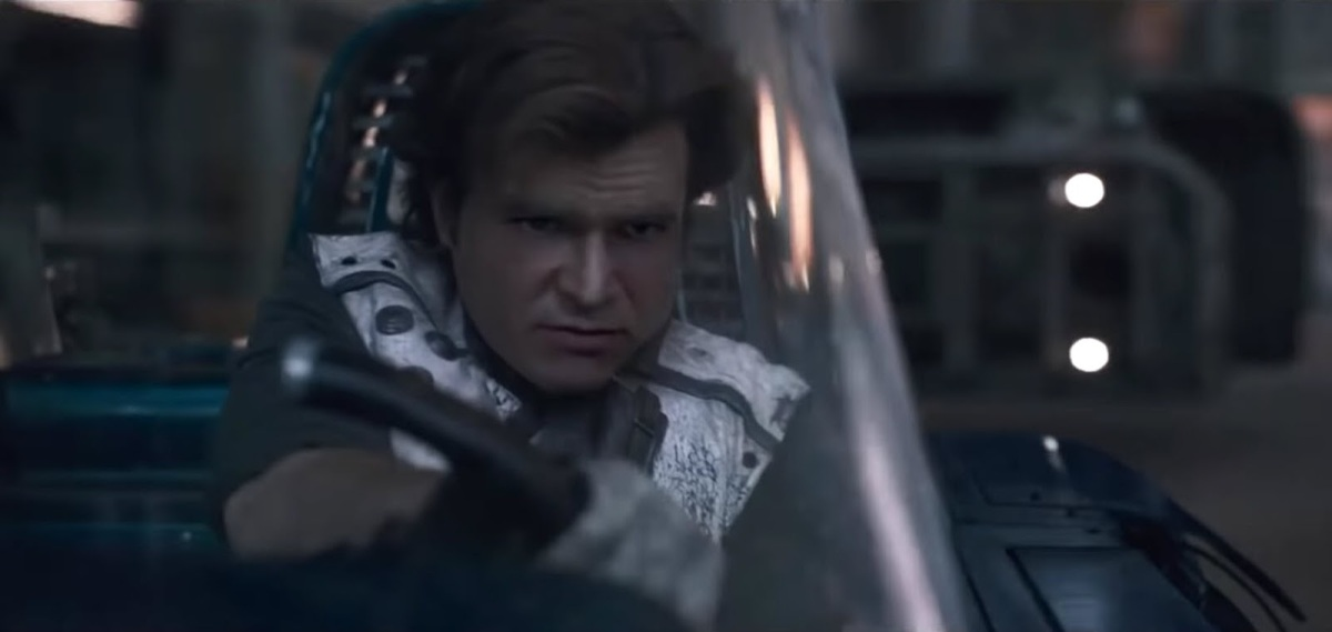 Deep Learning AI Inserts Harrison Ford Into Solo